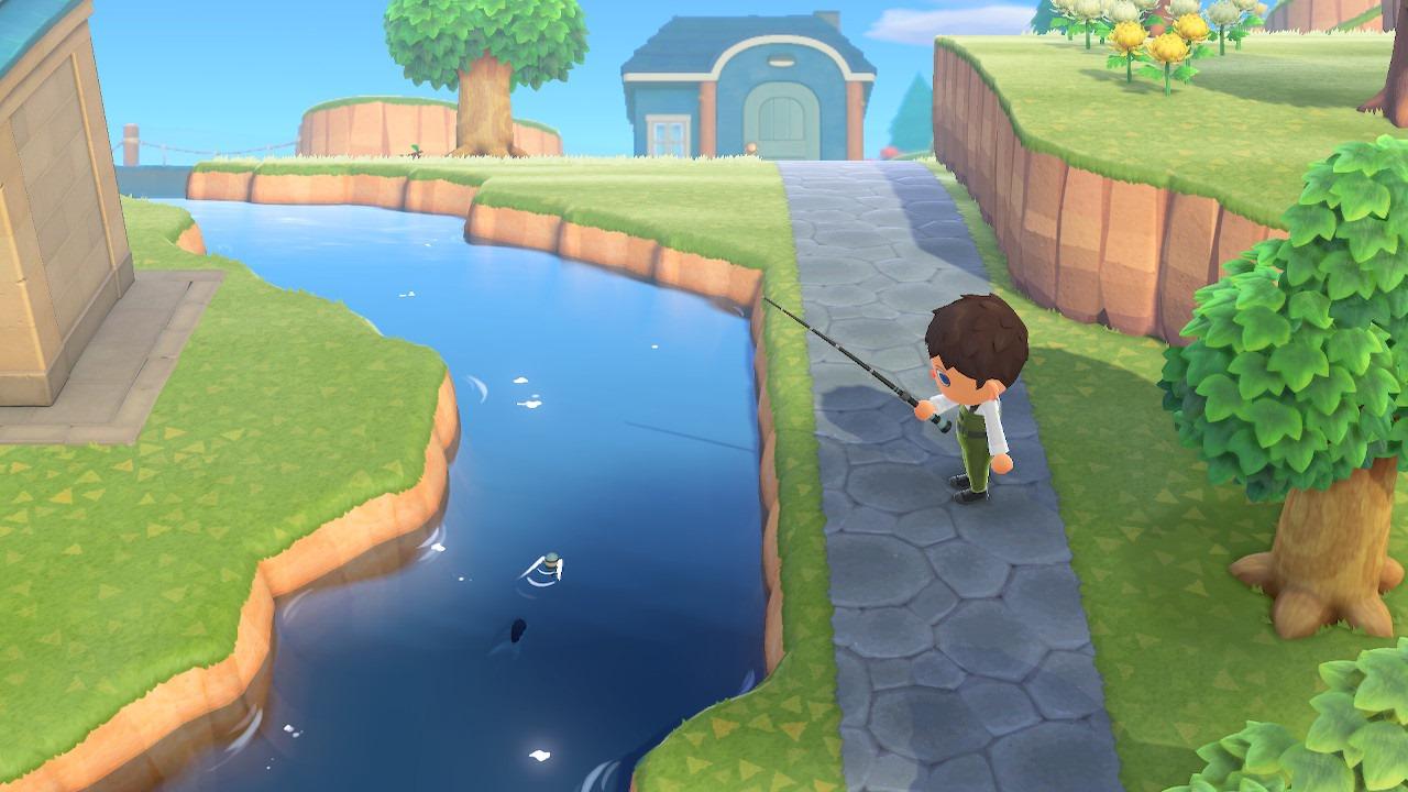 Utiliza las cañas para atrapar algunas criaturas acuáticas.