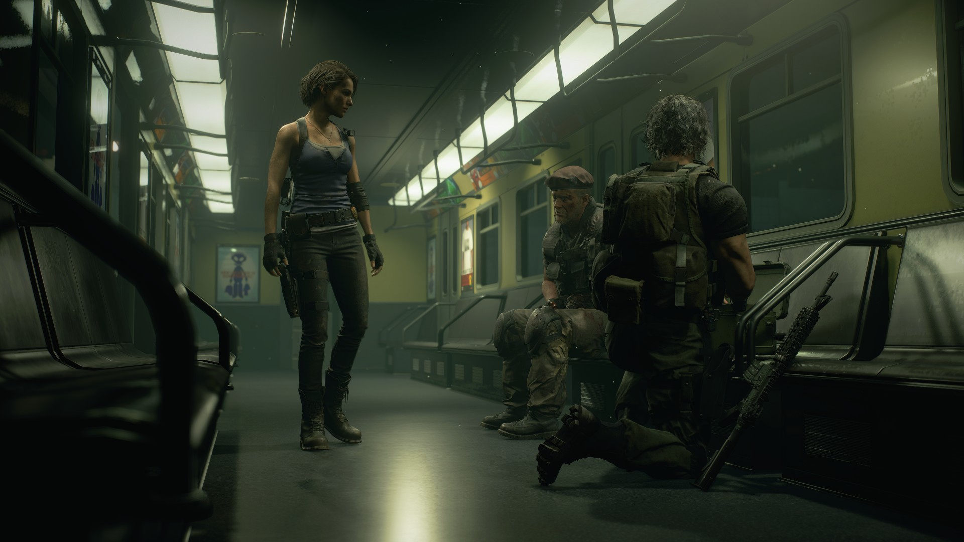Voice Actors And Cast Resident Evil 3 Shacknews
