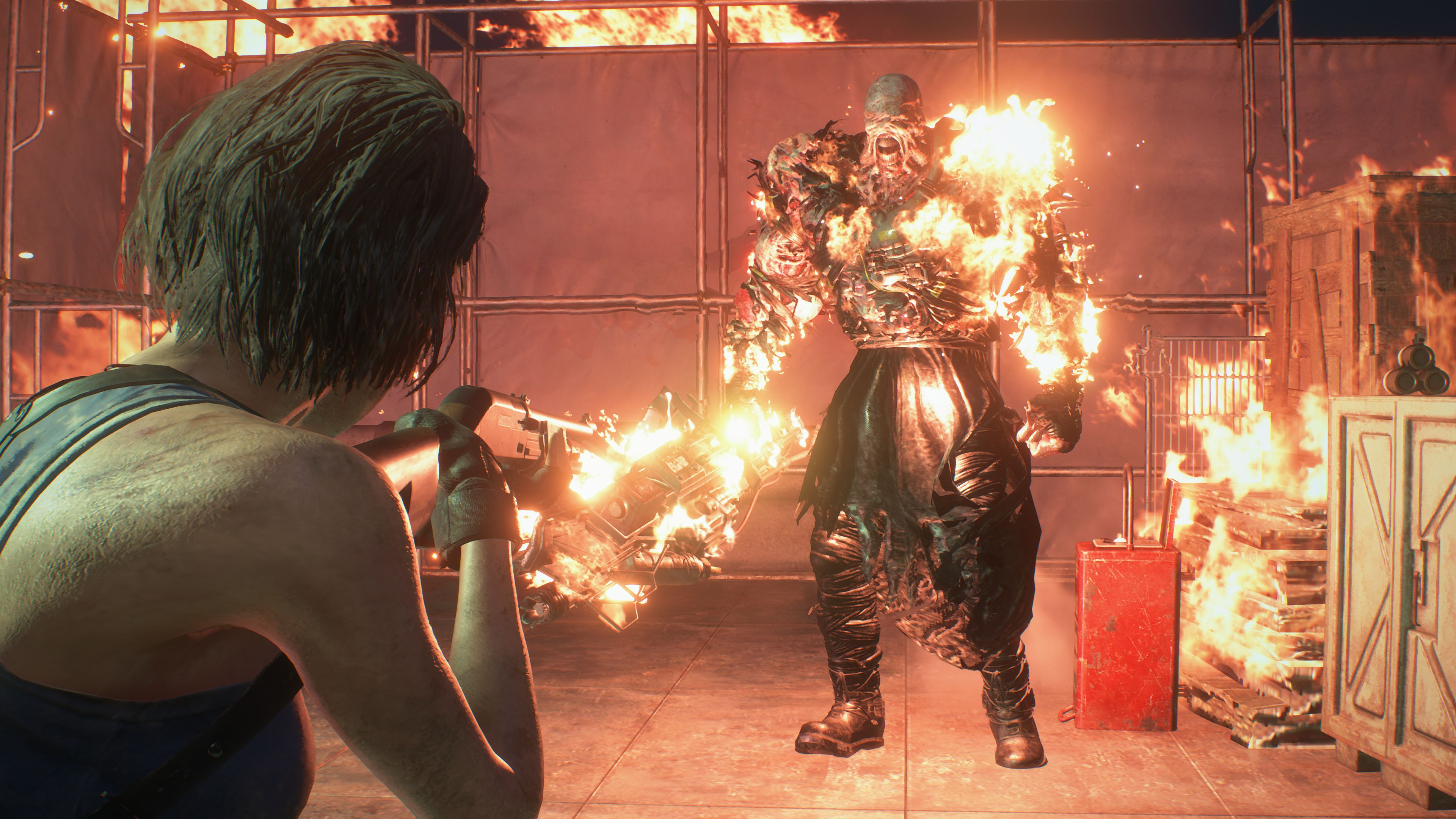 Nemesis First Form Boss Fight Resident Evil 3 Shacknews
