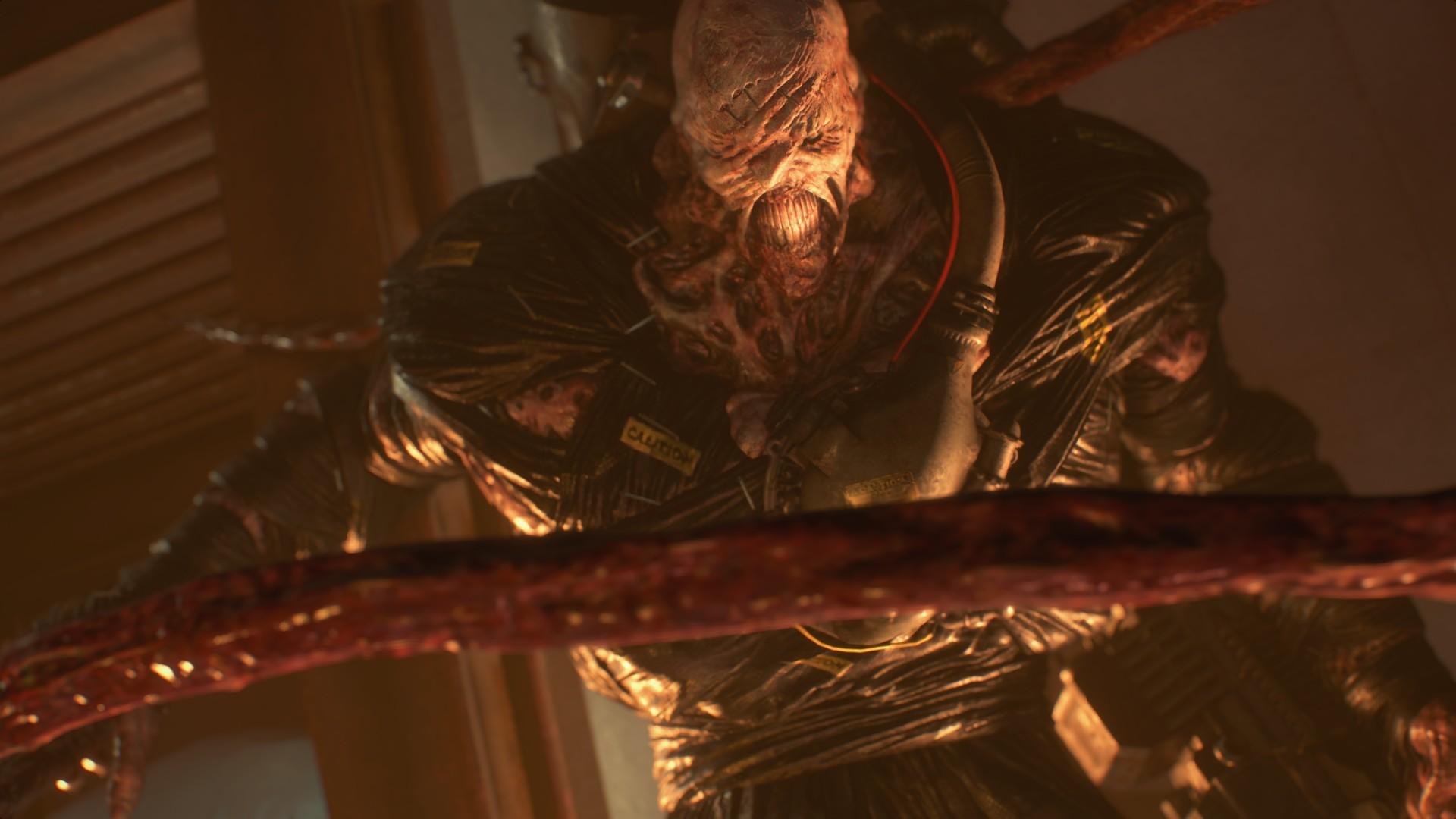 Nemesis Second Form Boss Fight Resident Evil 3 Shacknews