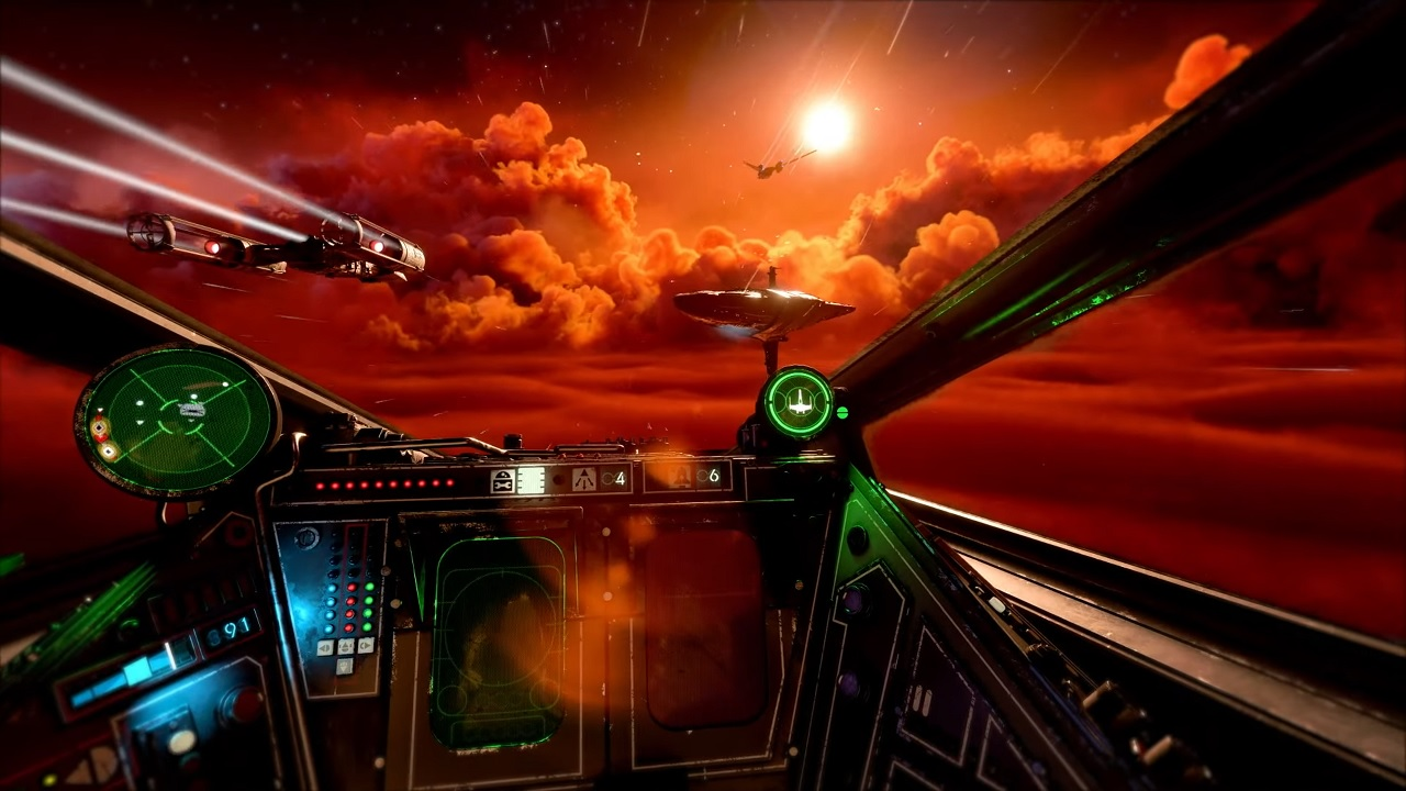 Star Wars: Squadrons gameplay is first-person only to ...