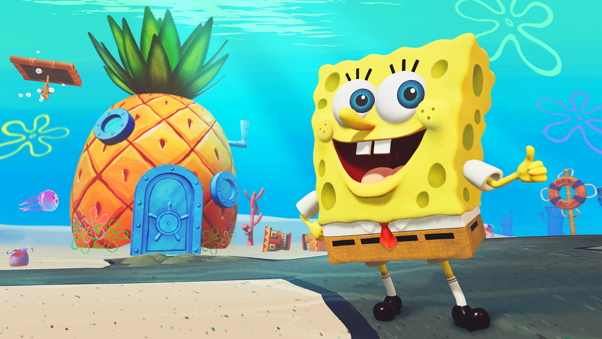 bikini battle for Spongebob sqaurepants