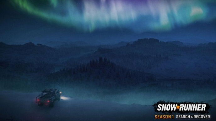 Snowrunner first season pass content will send drivers in search of a downed WW2 bomber