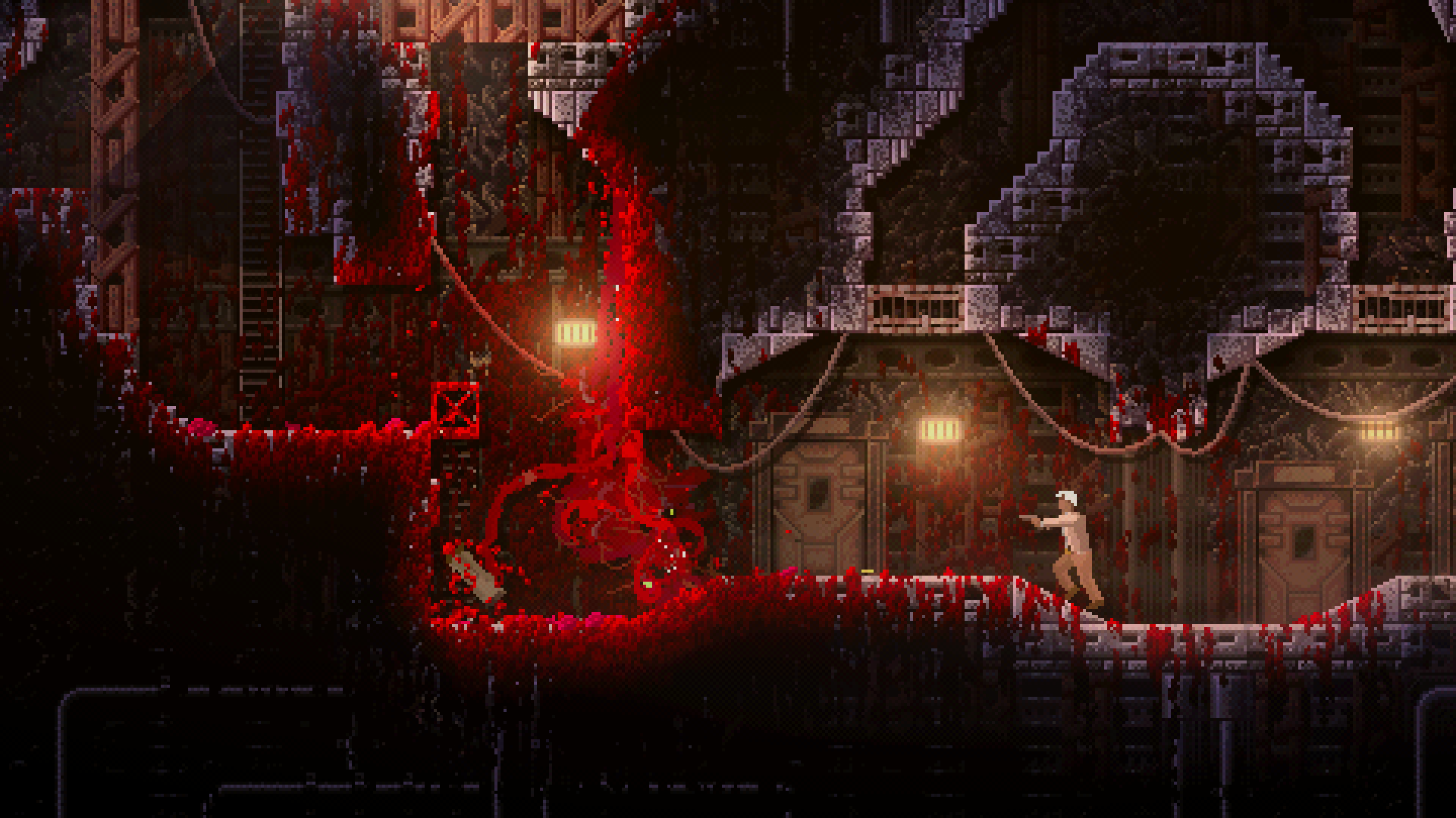 Carrion Gets Bloody New Trailer Releases July 23 Shacknews