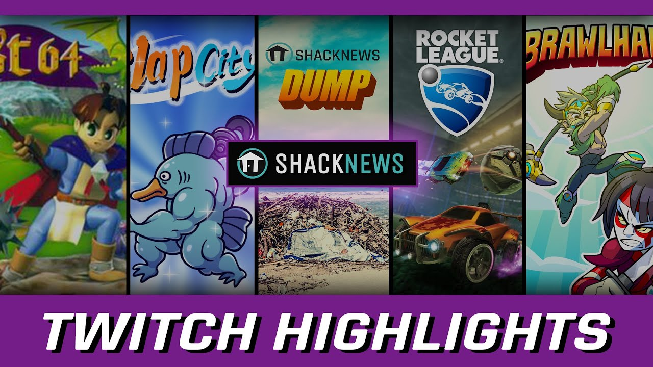 Shacknews Twitch Highlights: Slap City, Quest 64, and Brawlhalla