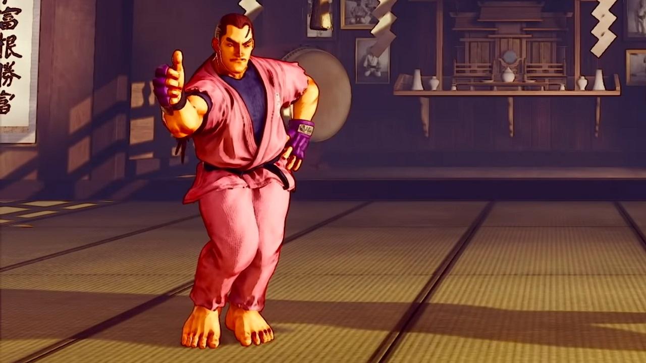 Dan Hibiki má Street Fighter V trailer