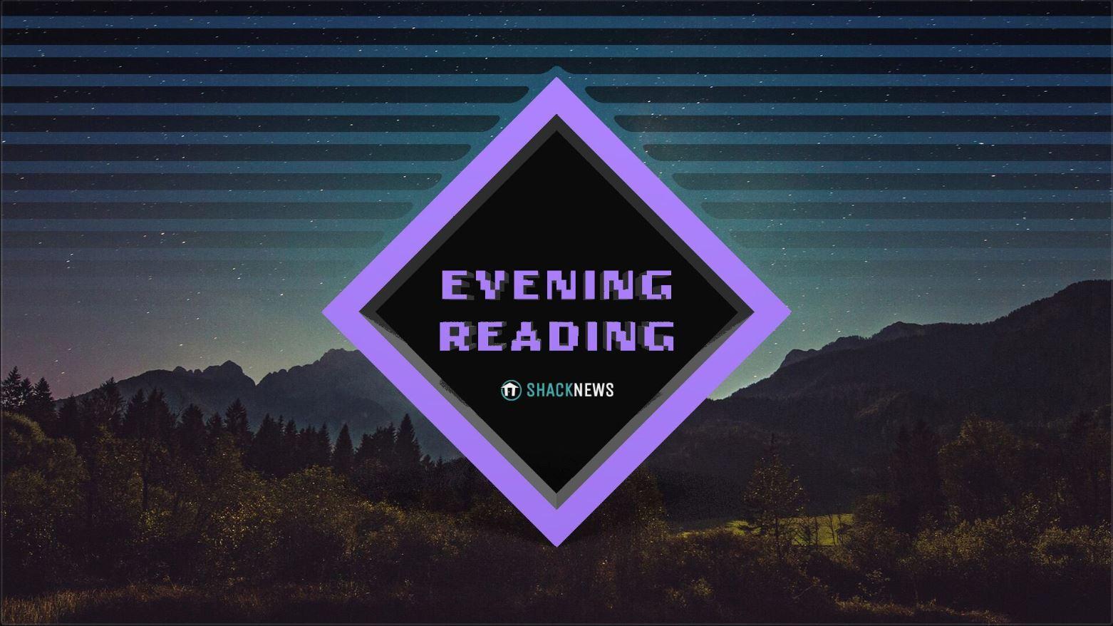 Evening Reading October 8 2020 Shacknews
