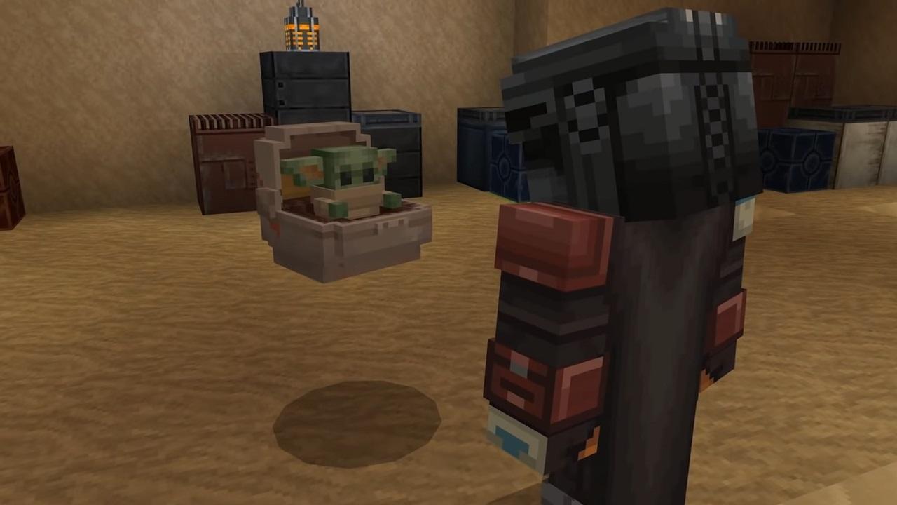 Minecraft gets Star Wars Mandalorian & original trilogy DLC
