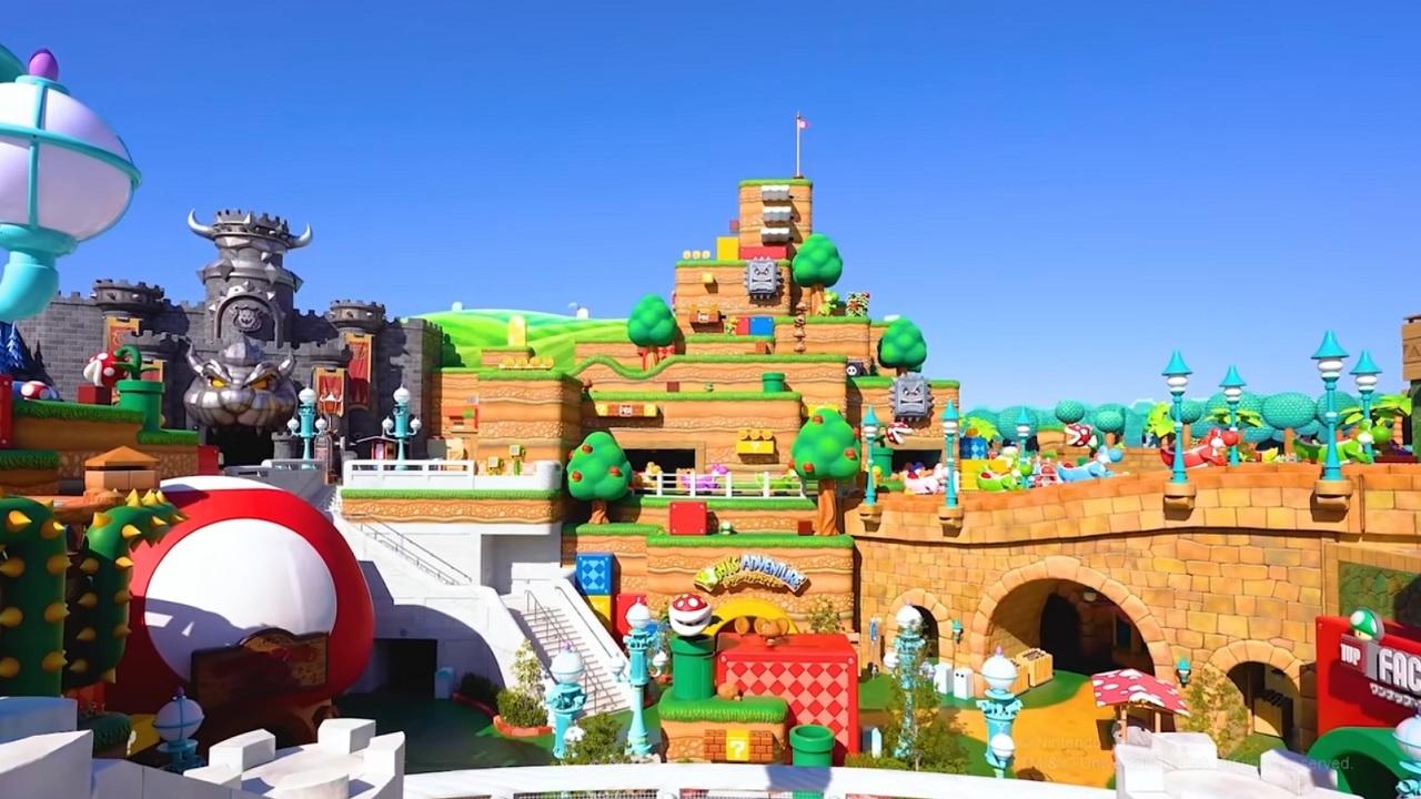 Super Nintendo World theme park will open in February 2021 | Shacknews