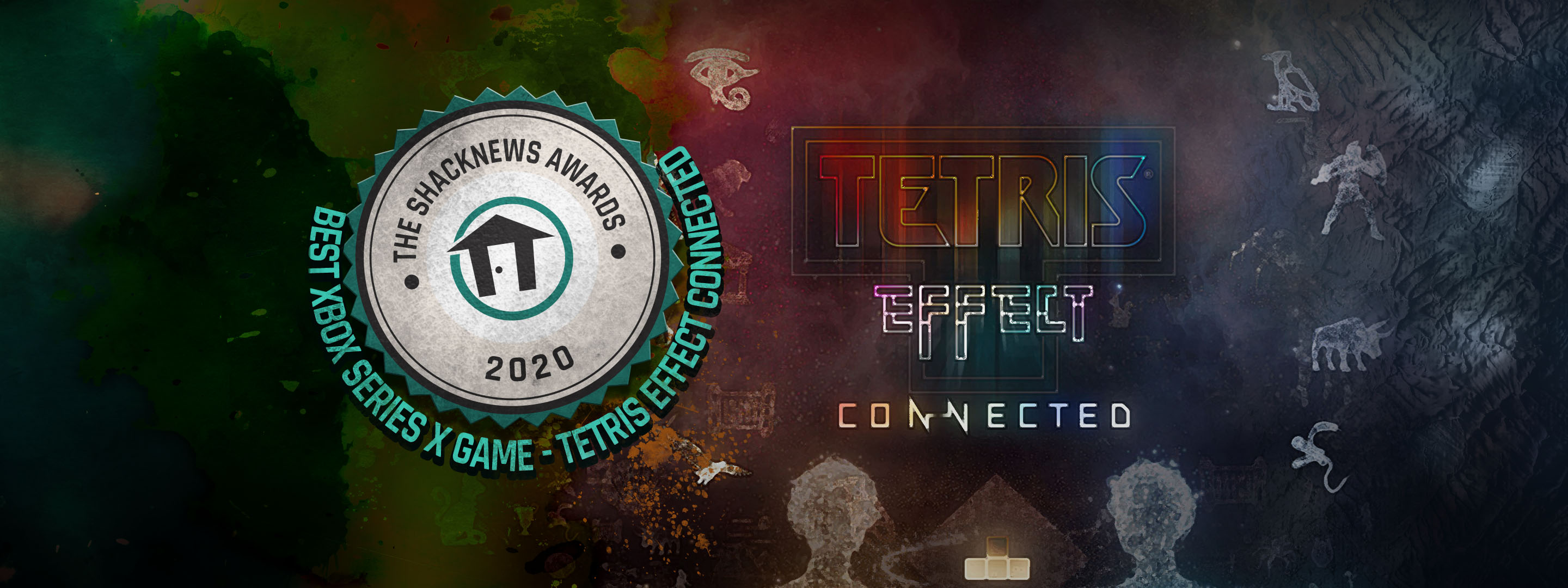 Image of article 'Best Xbox Series X Game of 2020    -    Tetris Effect: Connected'