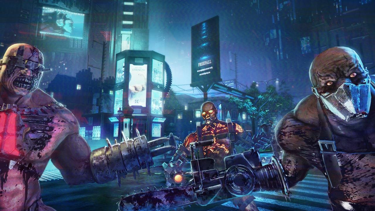 Kf2 Christmas 2021 Cosmetics Killing Floor 2 Dystopian Devastation Update Brings Dystopia 2029 Map New Weapons Shacknews