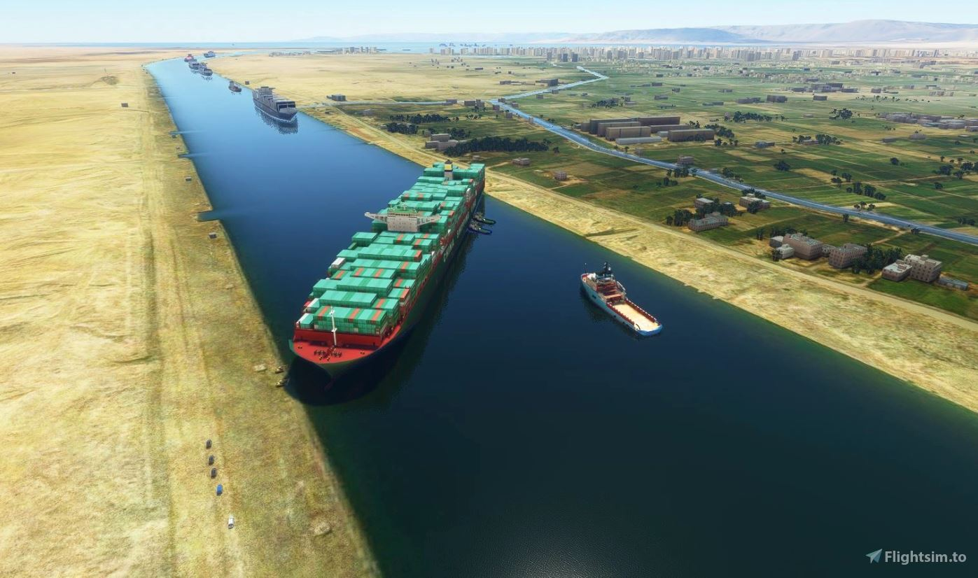 Block your own Suez Canal with this Microsoft Flight ...