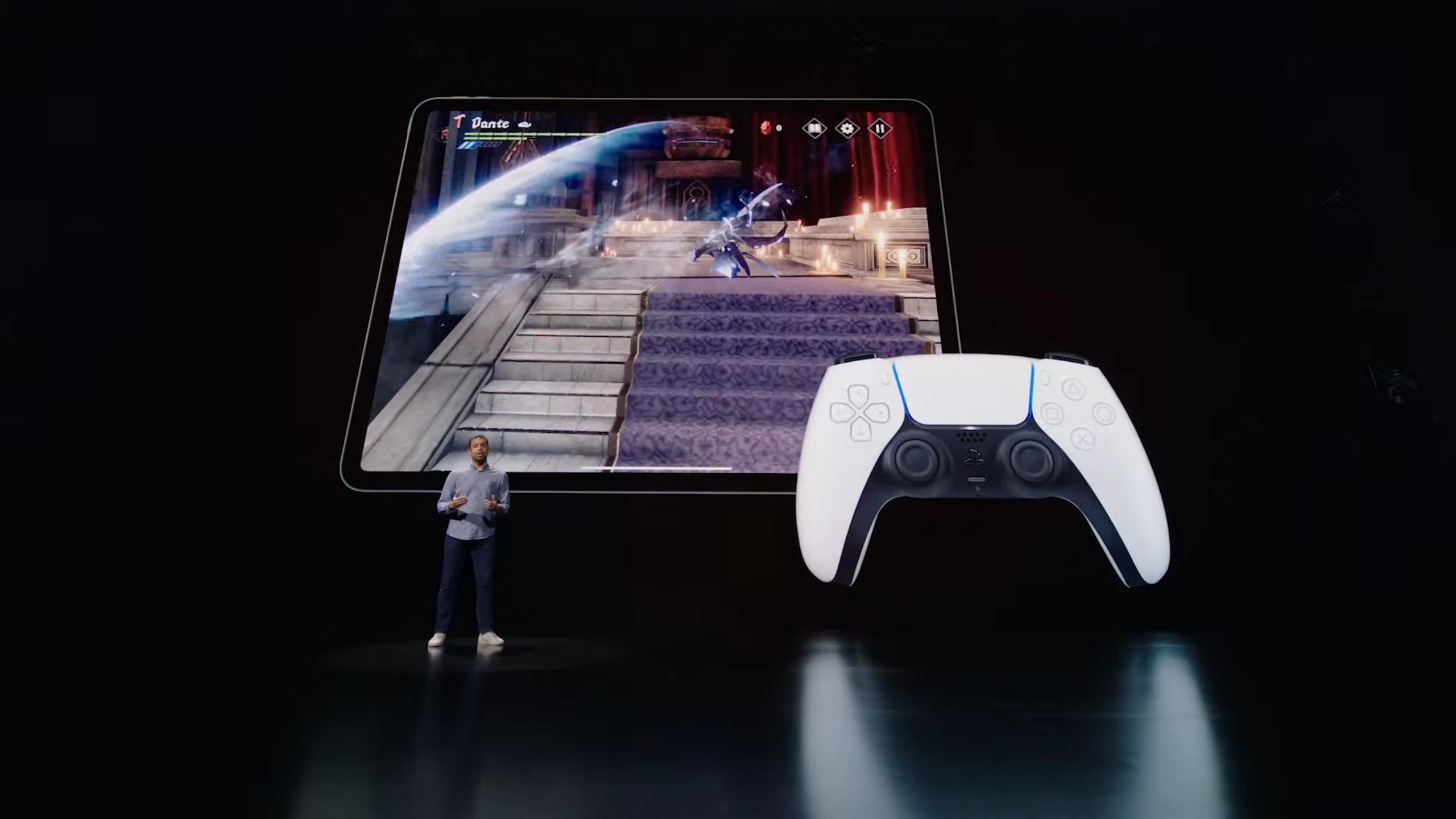 New M1-powered Apple iPad Pro can use PS5 DualSense haptic ...