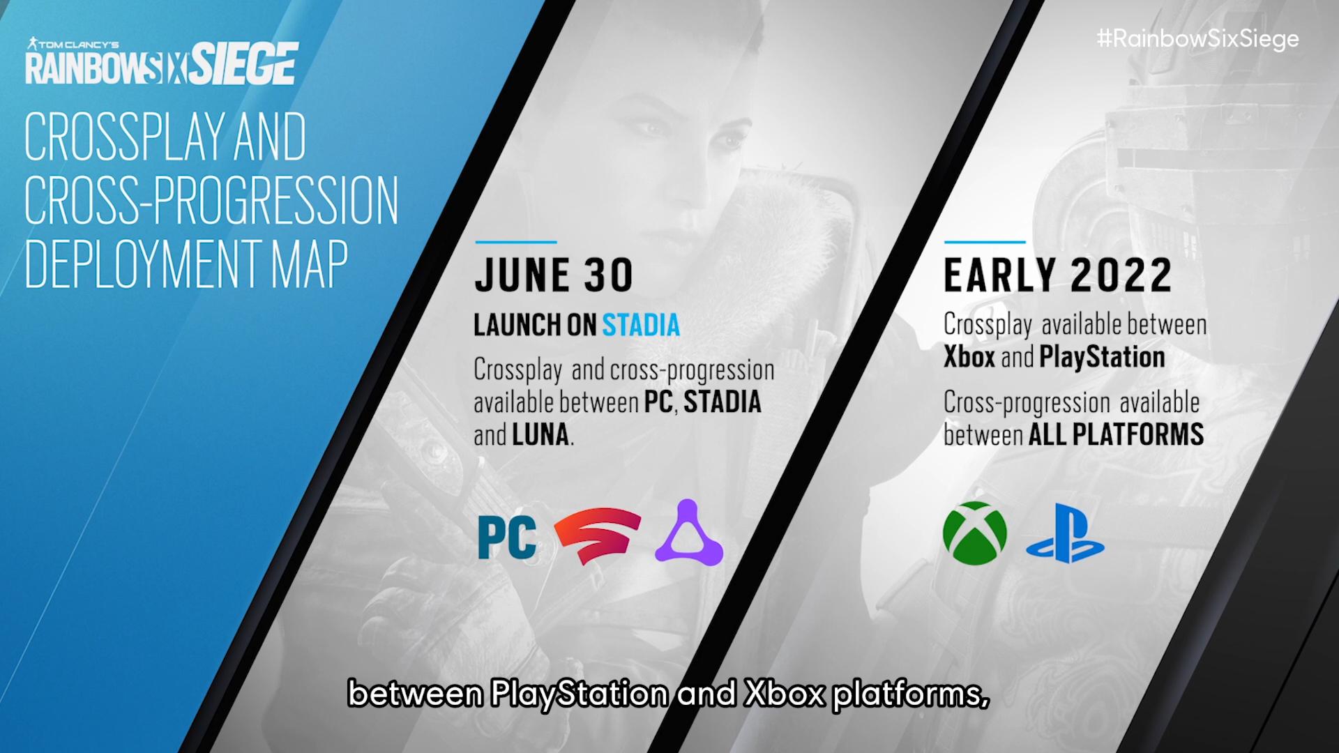 Rainbow Six Siege cross-play and cross-progression announced at Ubisoft  Forward E3 2021 | Shacknews