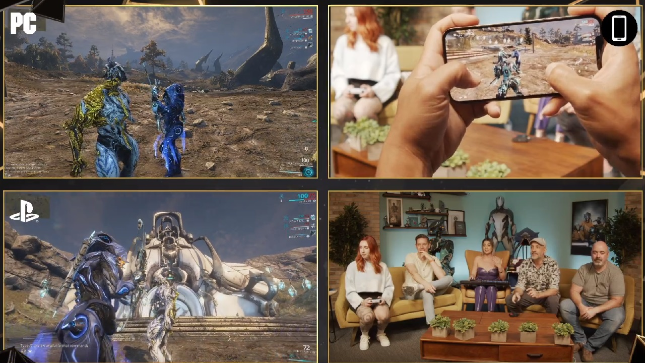 Warframe mobile, cross-play, and cross-save are in development | Shacknews