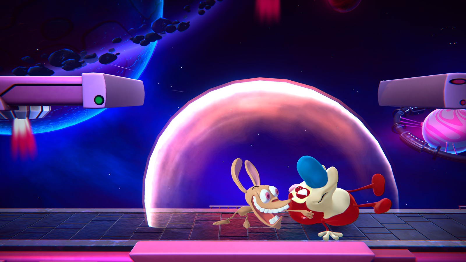 Ren & Stimpy announced for Nickelodeon All-Star Brawl