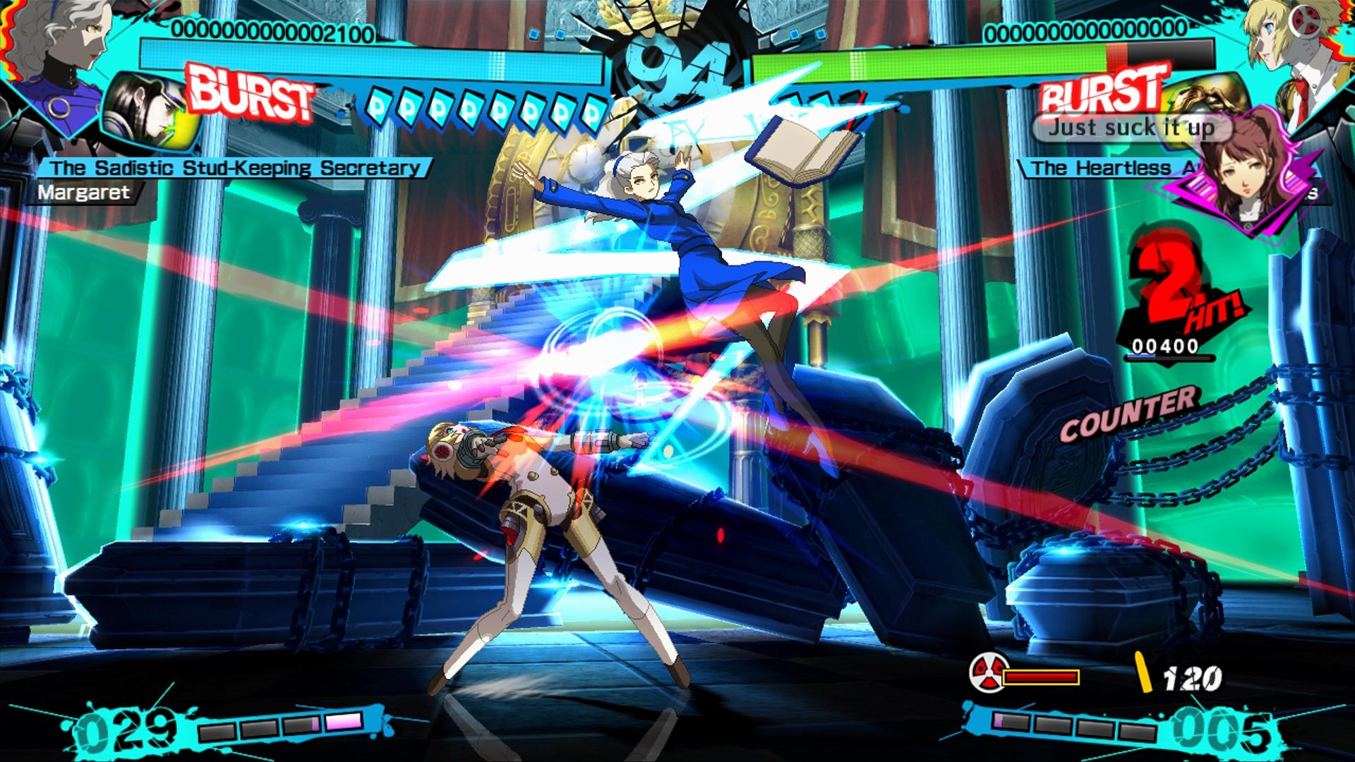 Persona 4 Arena Ultimax reveals DLC character Margaret