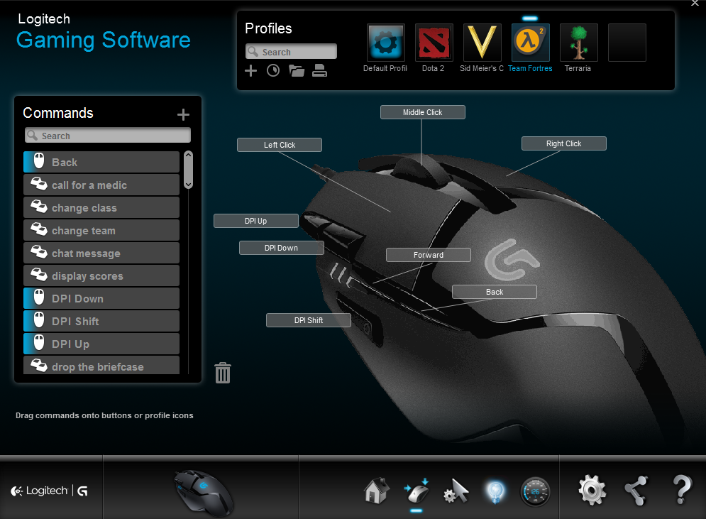 G402 Hyperion Fury Gaming Mouse Review Shacknews