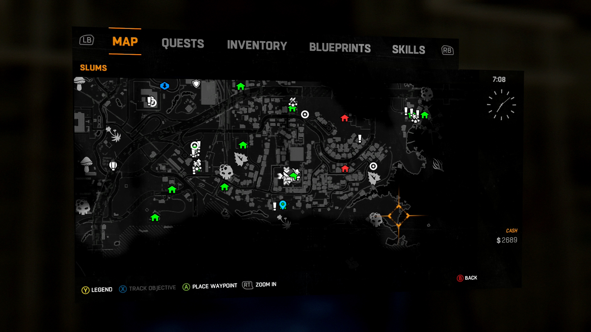 Dying light locate expcalibur and its blueprint shacknews to find this sword youll need to head just southeast of the tower to the coastline malvernweather Images