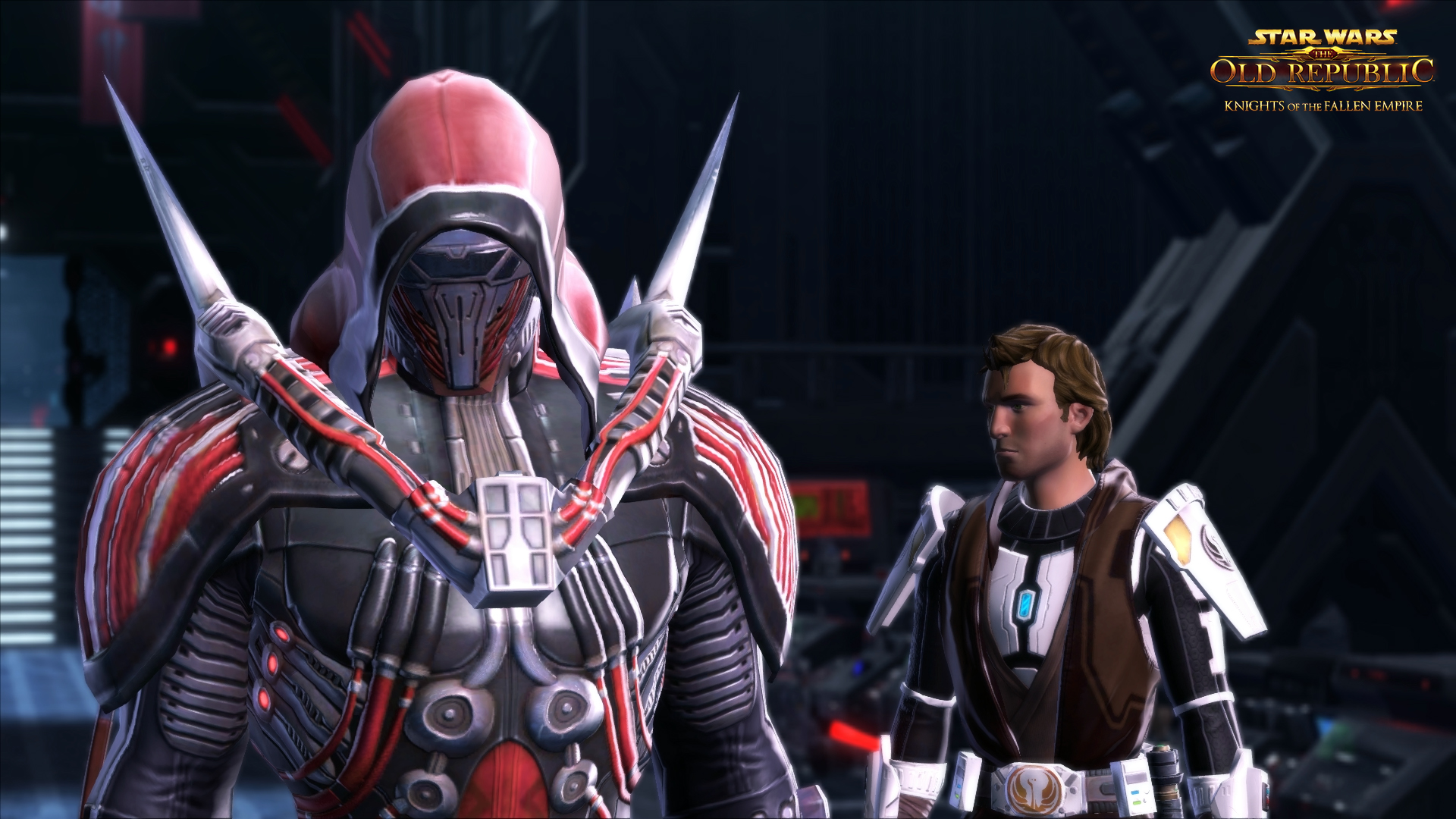 star wars the old republic hands on with the first minutes of