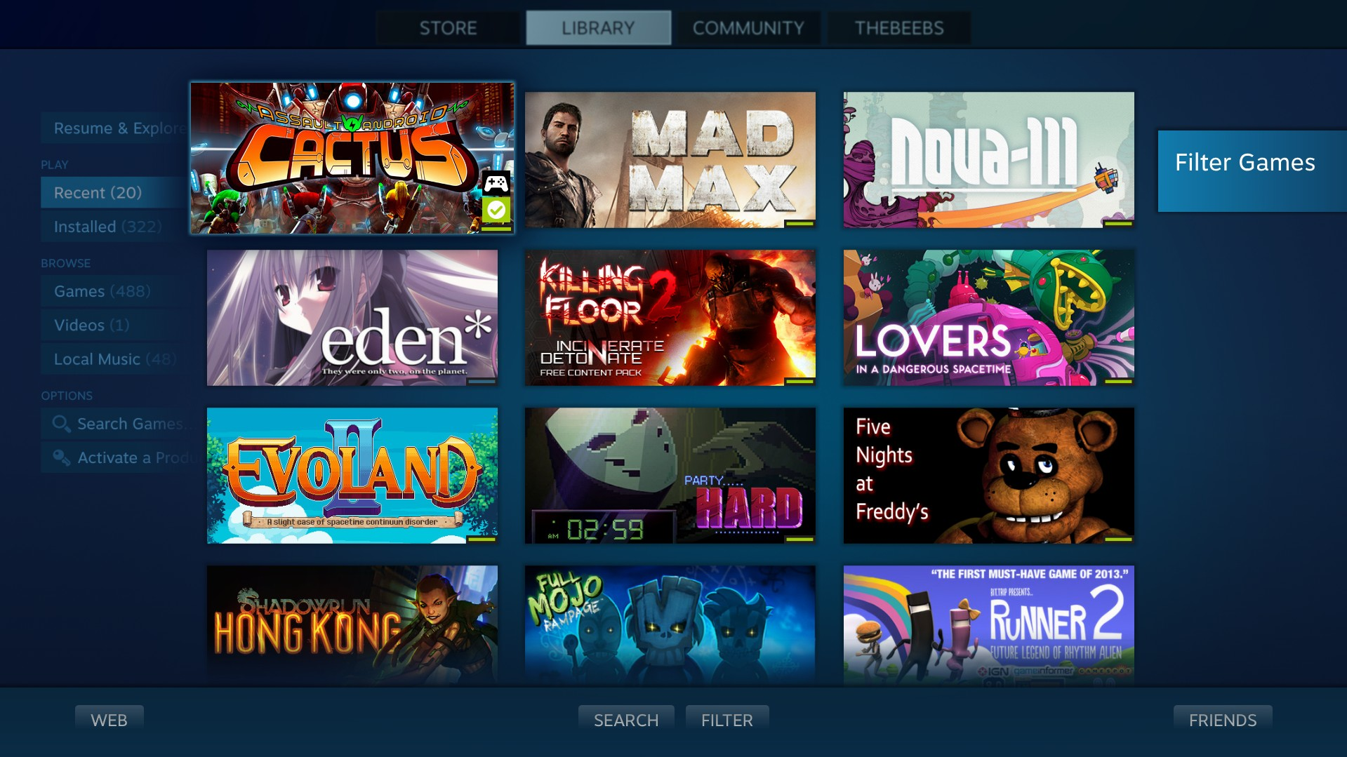 Steam's Big Picture mode gets updated prior to Steam
