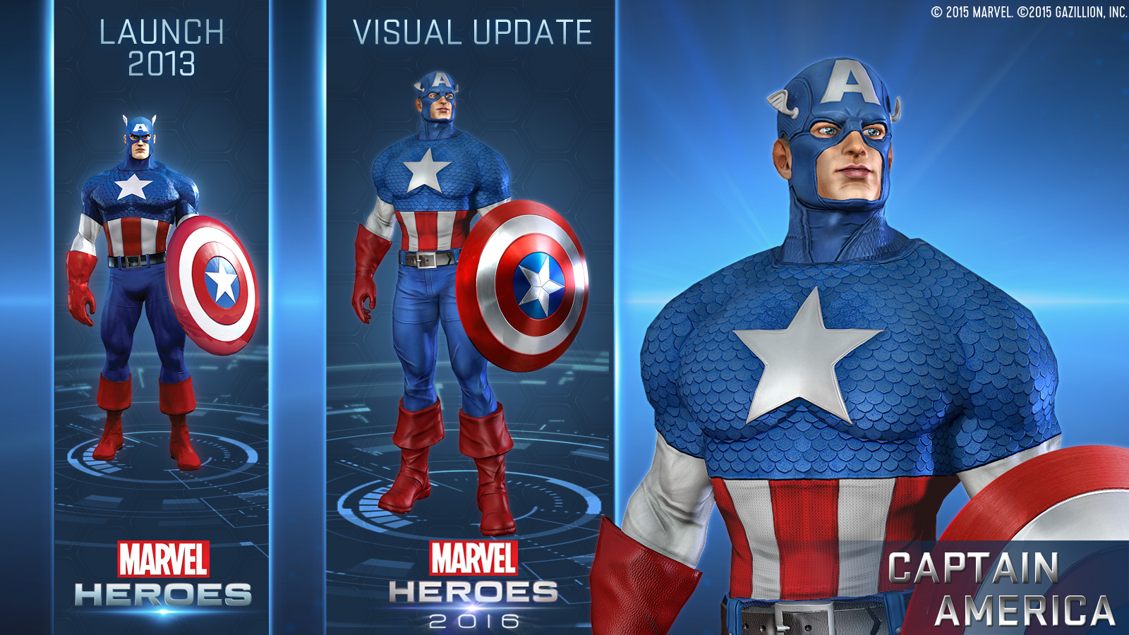 Gazillion discusses the change to Marvel Heroes 2016, 'ANAD