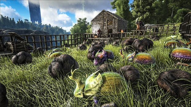 ARK: Survival Evolved on Xbox One plays catch-up with