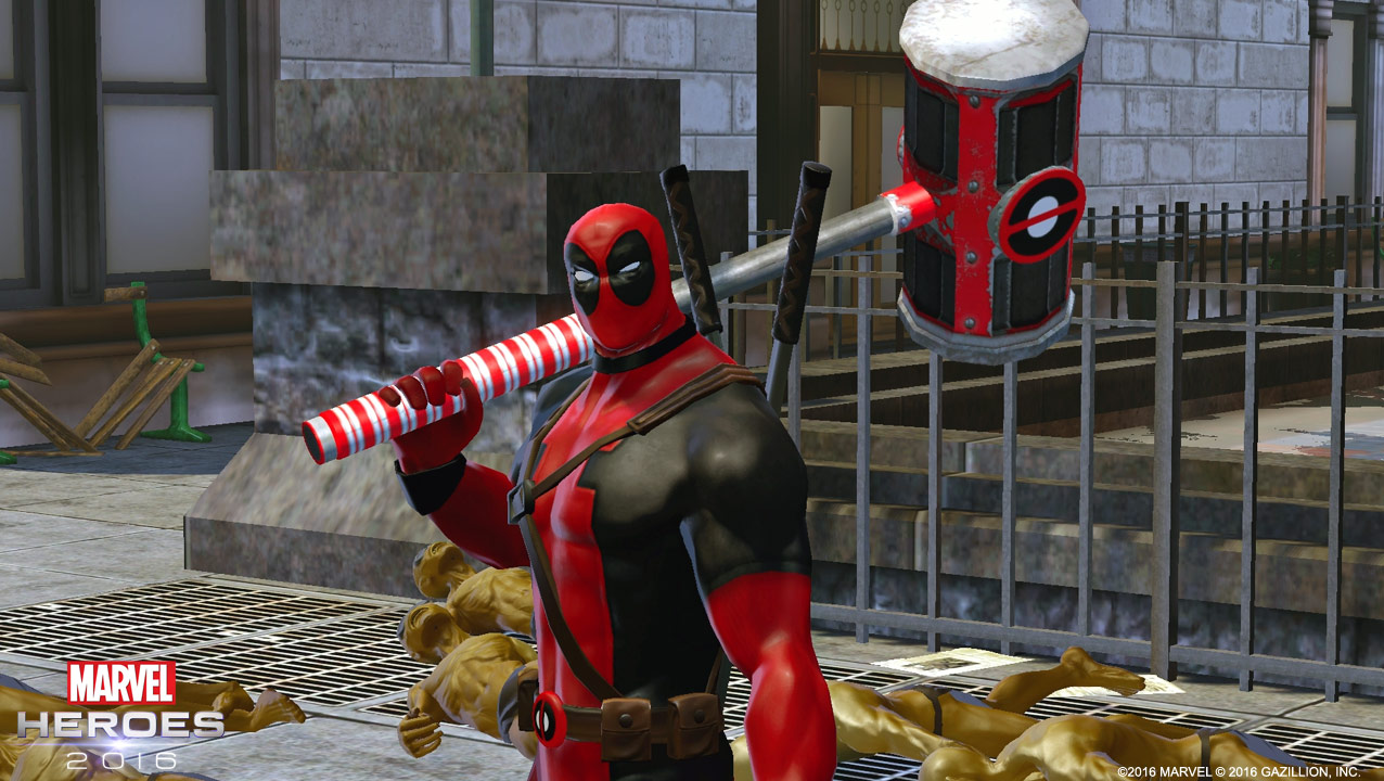 Marvel Heroes (2013) & Chimichangas! A Brief History of Deadpool in Video Games | Shacknews