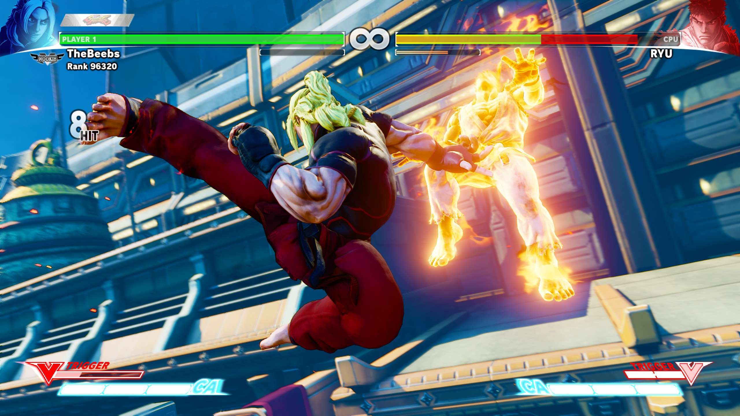 Street Fighter V How To Use V Trigger Attacks Shacknews