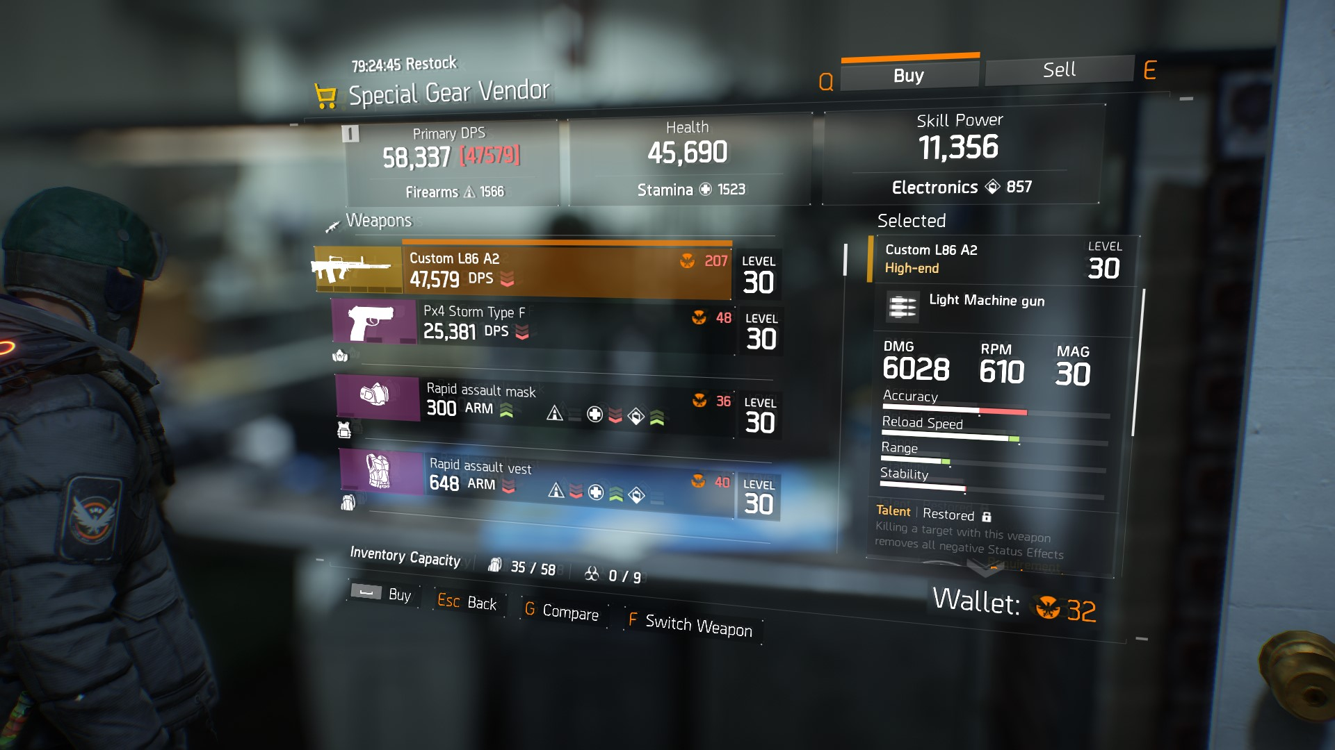 Where to Spend Your Phoenix Credits in The Division | Shacknews