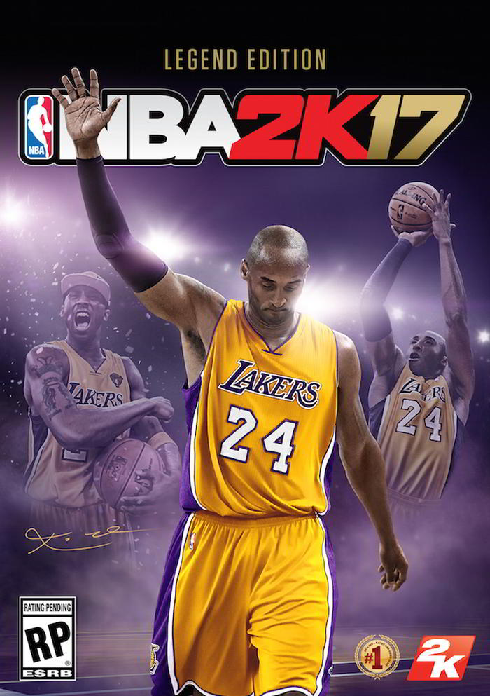 Kobe NBA2K17 Legend Edition