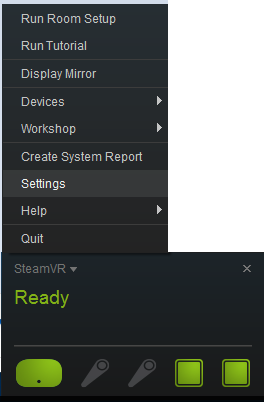 How to Enable the Front Facing Camera on the HTC Vive