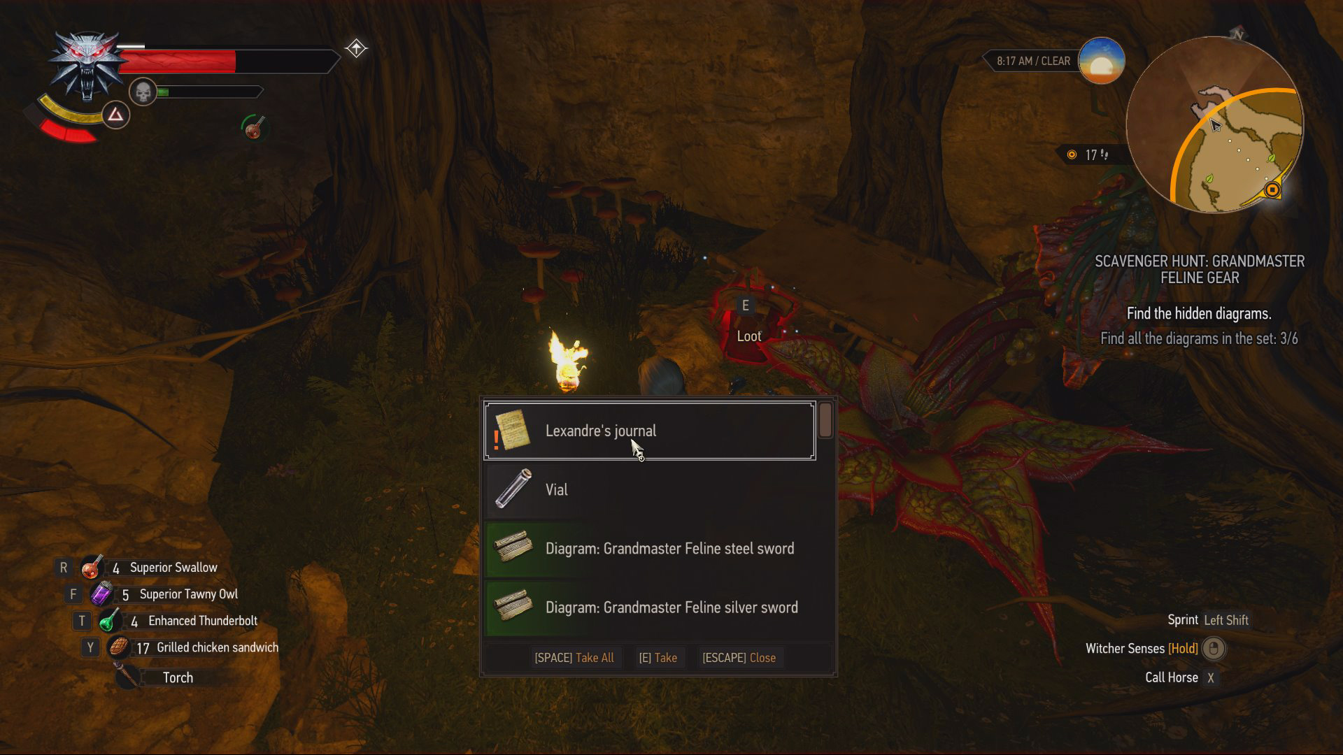 How to Get the Grandmaster Feline Gear in The Witcher 3