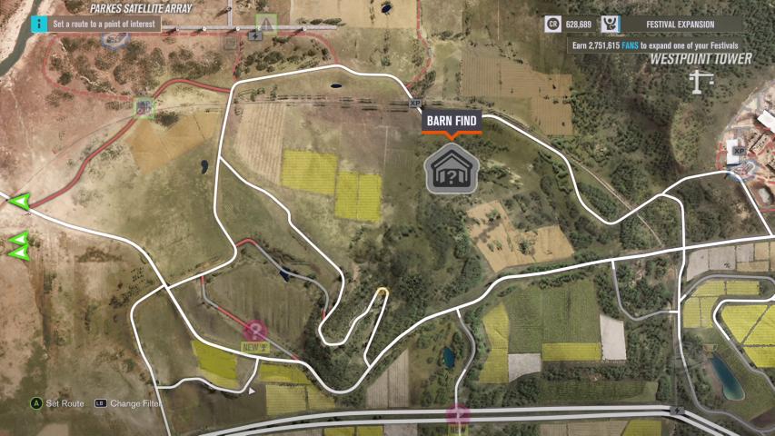 Forza Horizon 3: Barn Finds Guide | Shacknews