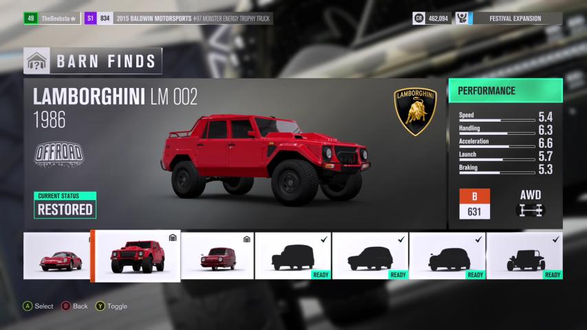 Barn Find 2 Lamborghini LM 002