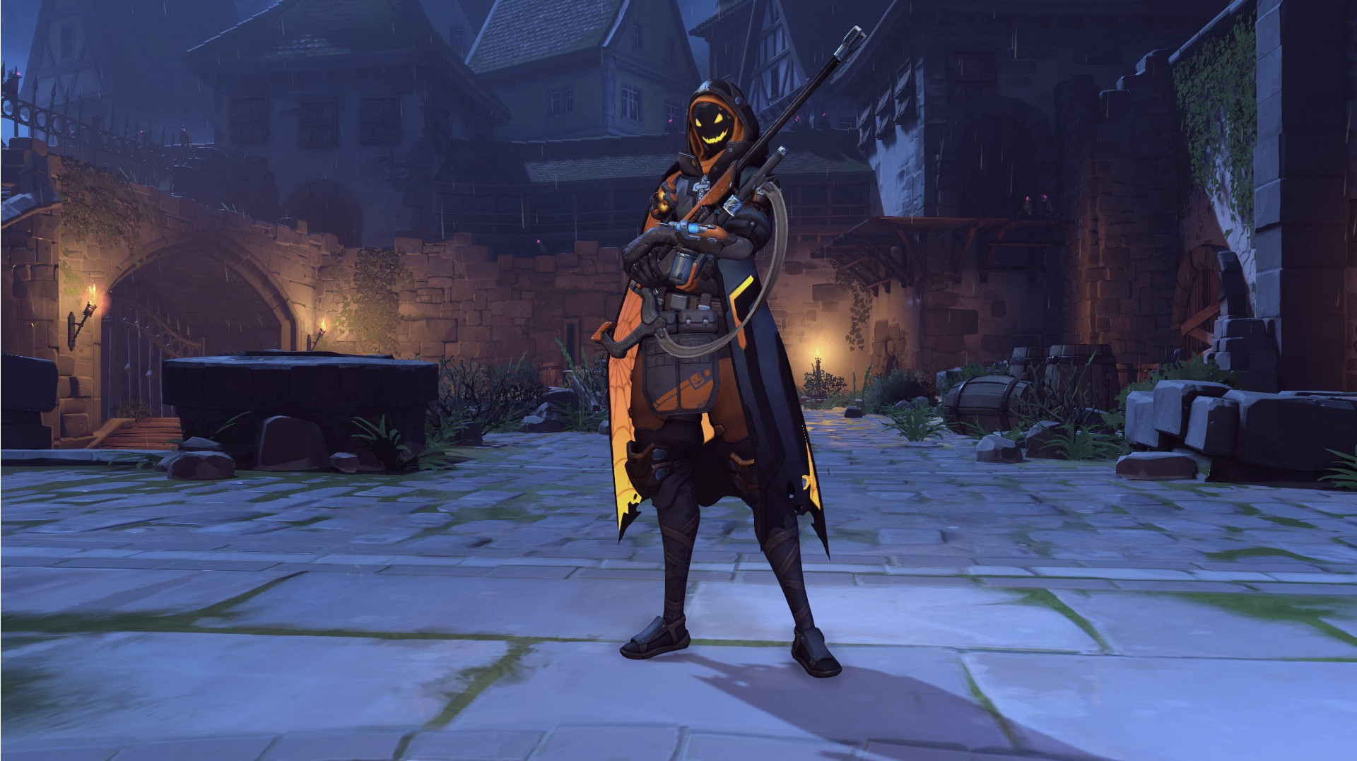 Ana Emotes here are all of overwatch's 'halloween terror' skins