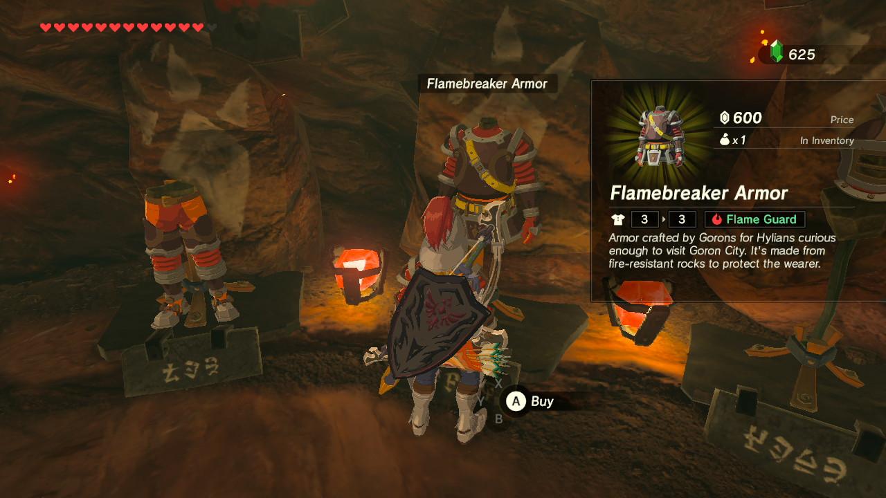 Zelda: Breath of the Wild - Armor Sets | Shacknews