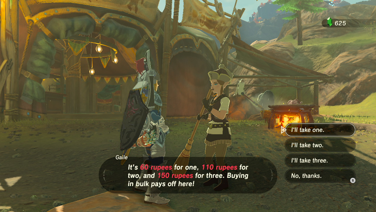 Stay cool in Breath of the Wild how to cool off