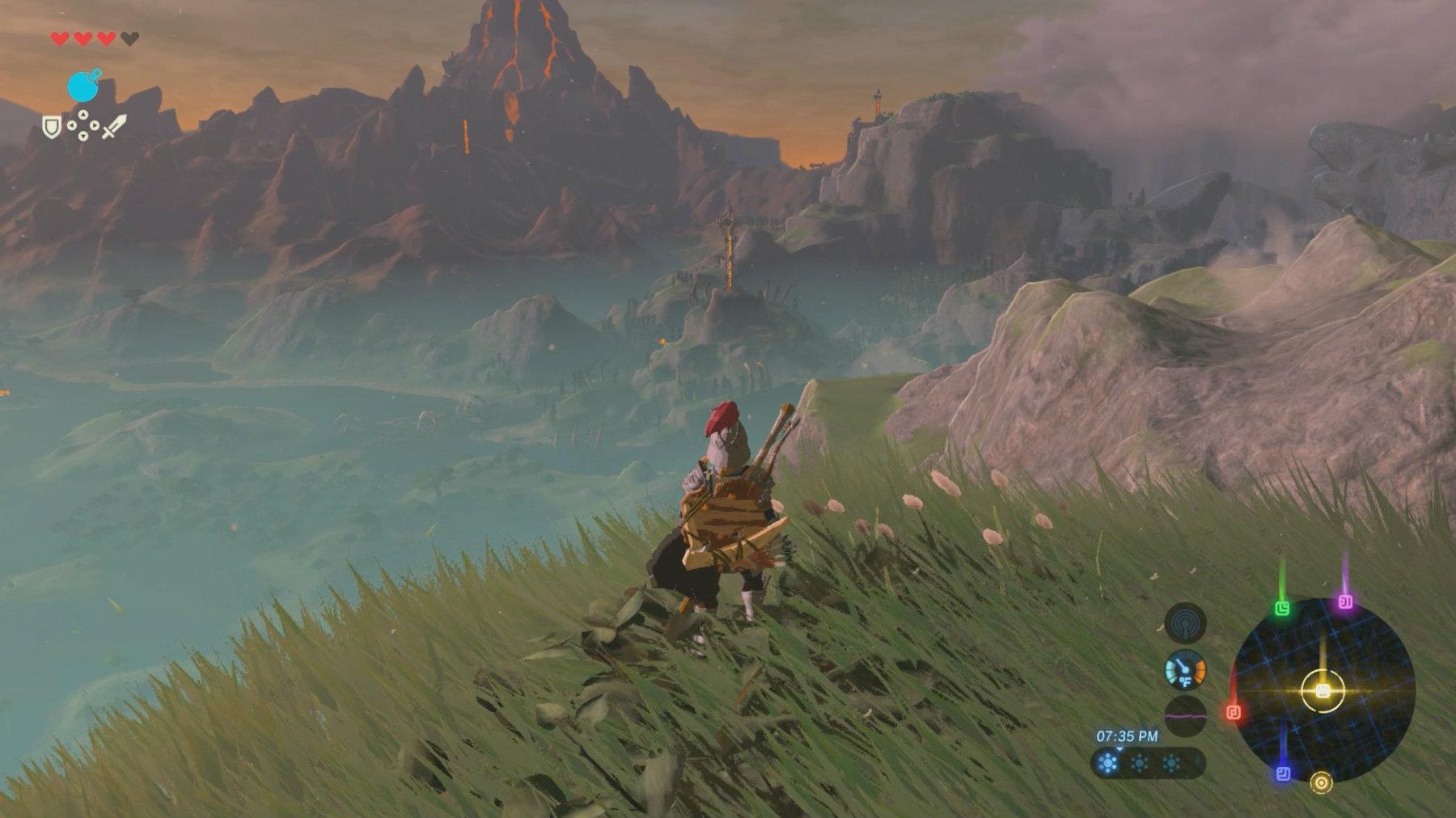 Zelda Breath Of The Wild Divine Beast Vah Ruta Walkthrough