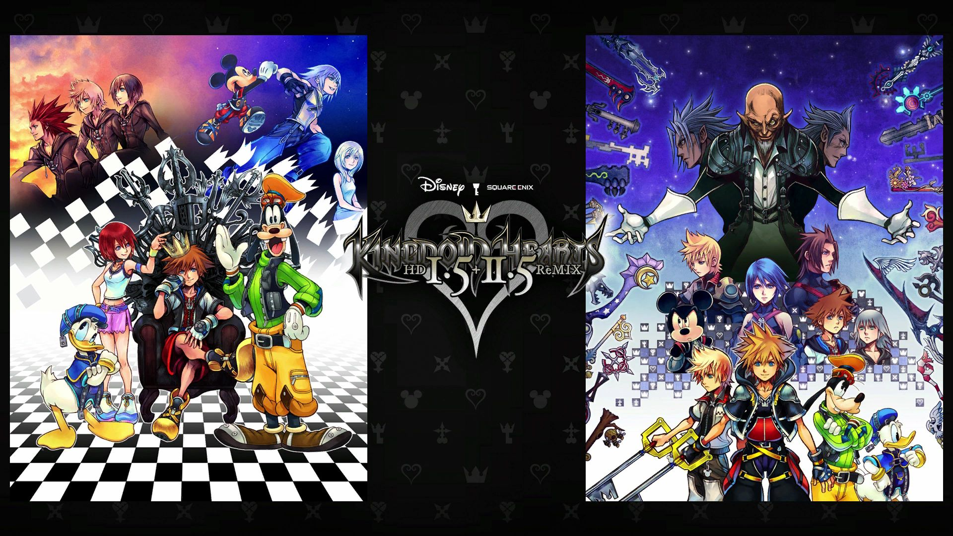 Kingdom Hearts I.5 + II.5 HD ReMIX