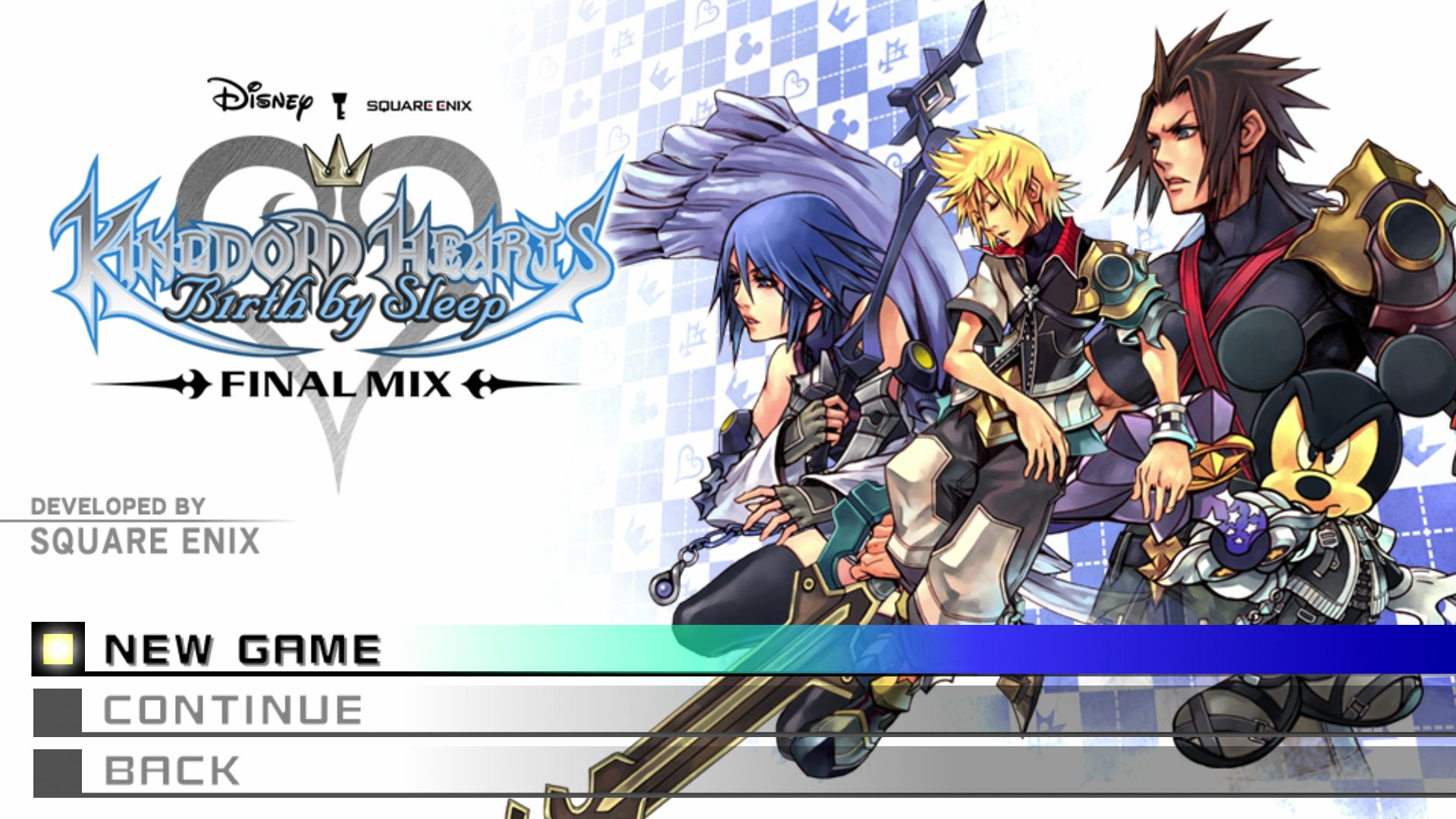 Kingdom Hearts Birth by Sleep Final Mix