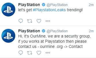 PlayStation Twitter Hacked, PSN Database Possibly
