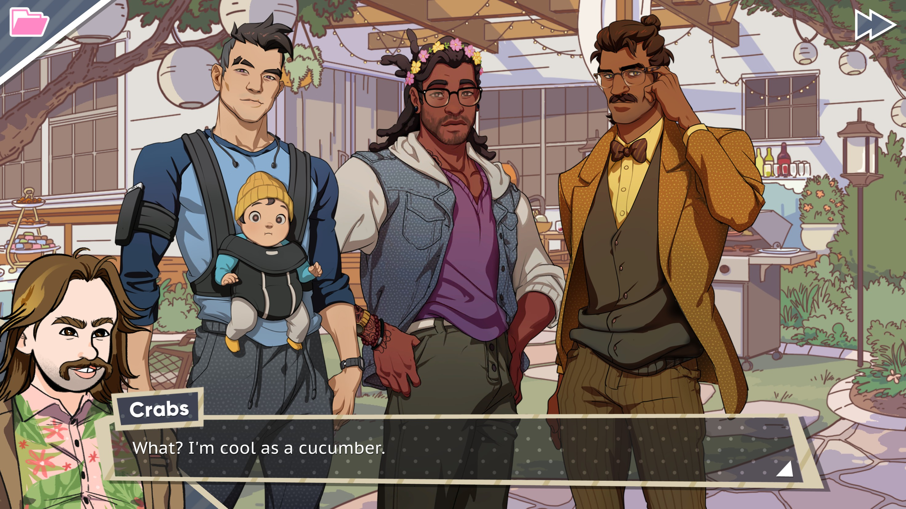 Amanda Dream Daddy dream daddy review: who are these people? | shacknews