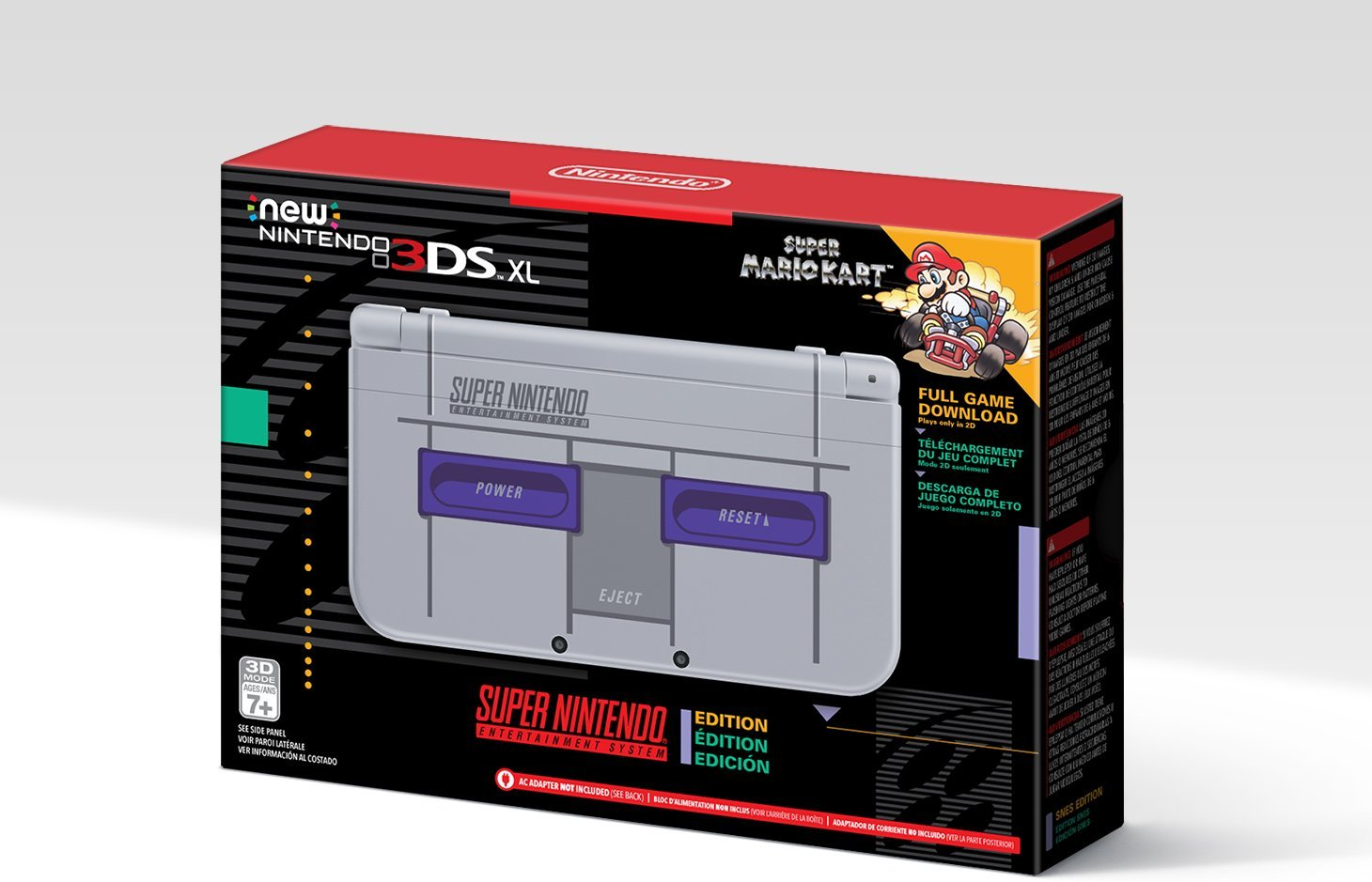 Amazon Reveals Exclusive Snes Classic Edition 3ds Xl Shacknews