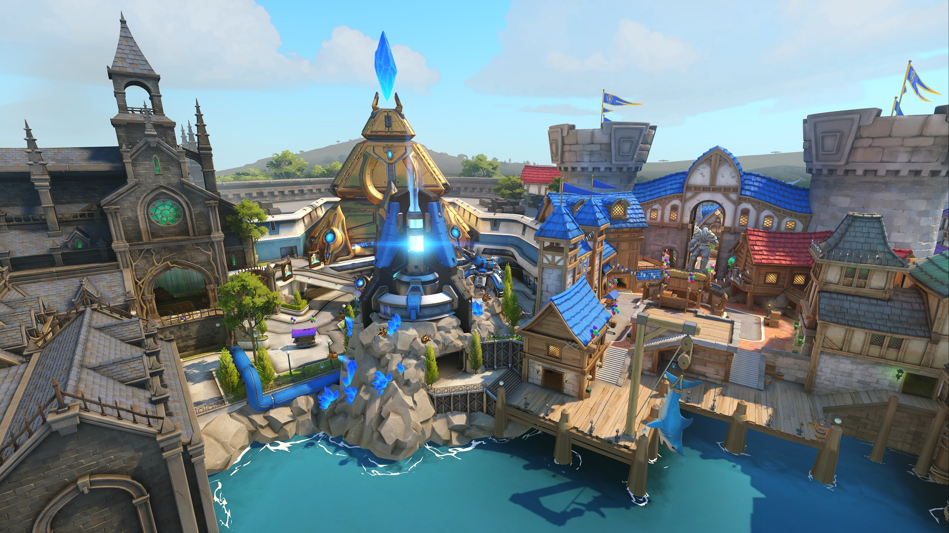 Hands on with Overwatch's Moira on Blizzard World Map at BlizzCon