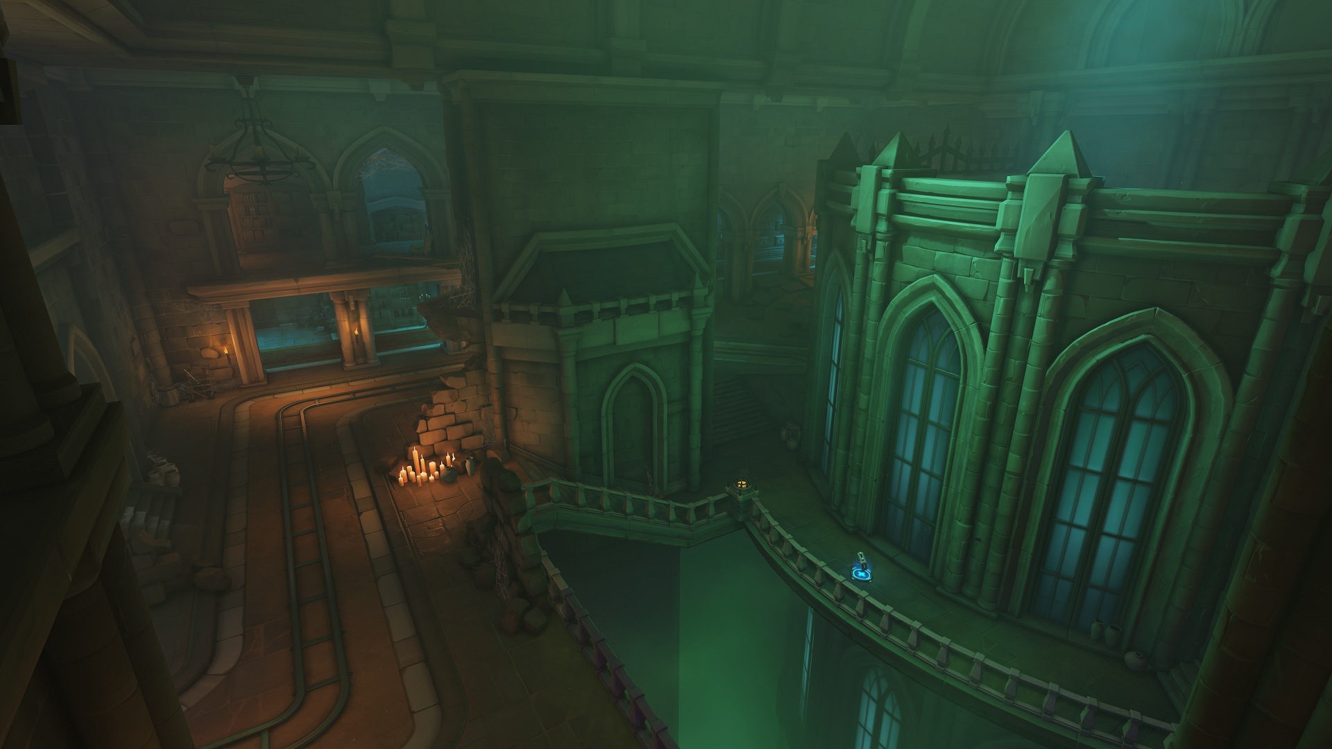 Hands On With Overwatch S Moira On Blizzard World Map At Blizzcon