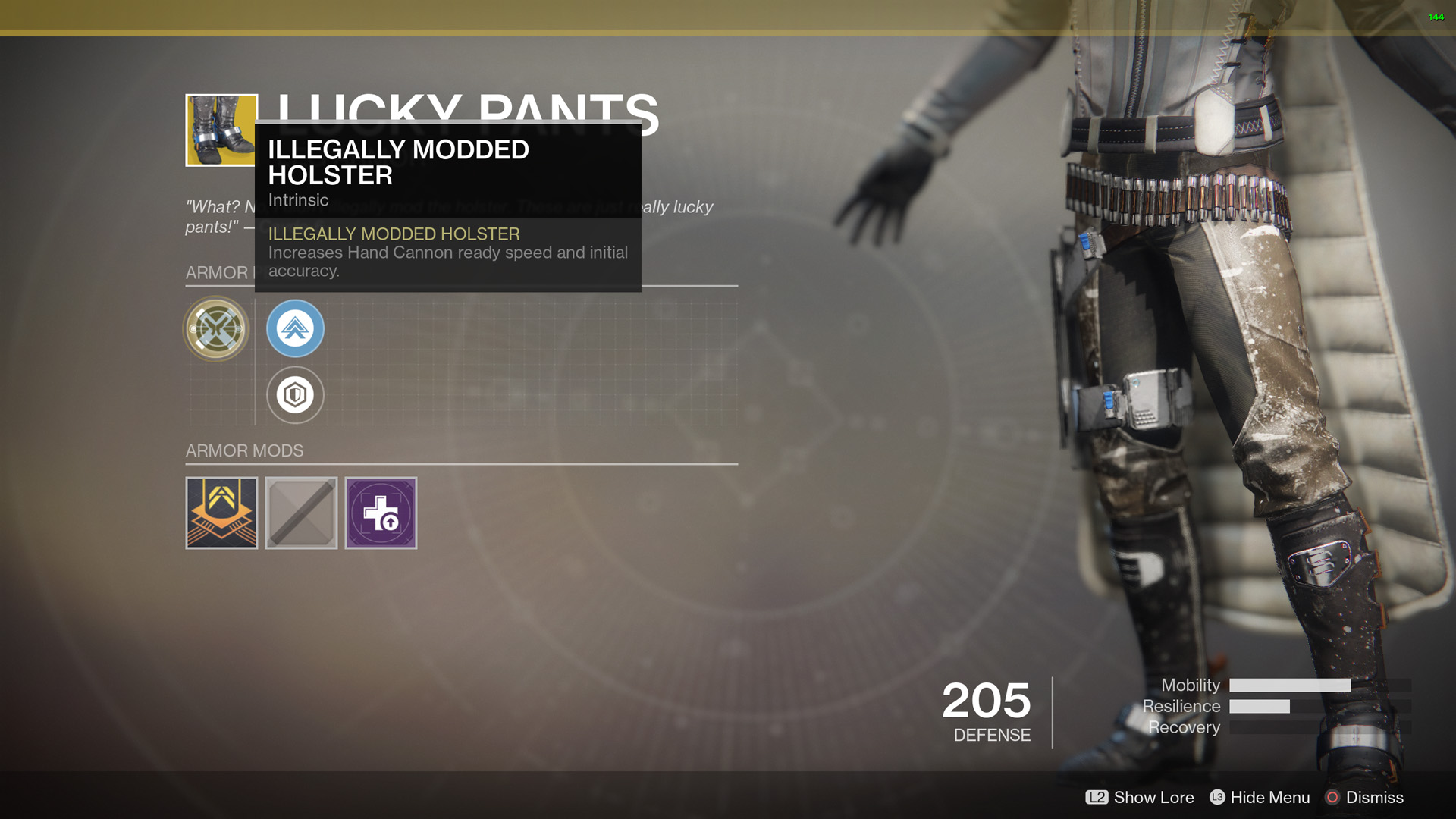 Destiny 2 Lucky Pants Review