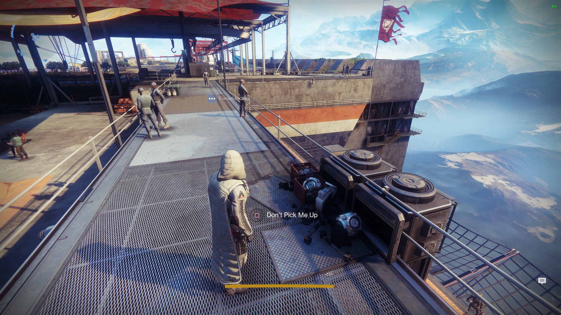 Destiny 2 The Floor Is Lava Challenge In The Tower