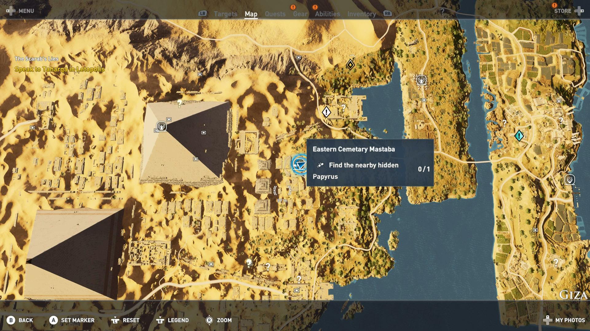 assassins creed origins papyrus puzzle