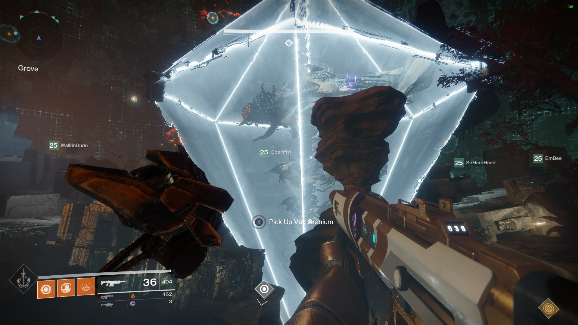 Destiny 2 eater of worlds raid lair complete guide shacknews once a vex cranium is charged it should be taken to the plate where you will be damaging argos keep in mind that if you drop the vex cranium gumiabroncs Choice Image
